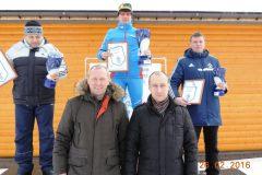 Командные соревнования по лыжным гонкам 2016