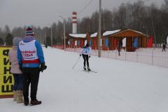 Лыжная смешанная эстафета