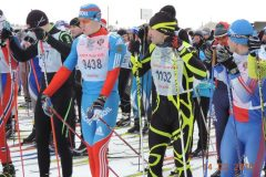 Всероссийская массовая лыжная гонка «Лыжня России - 2016»