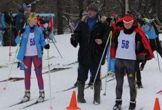 XVII Открытые областные соревнования по лыжным гонкам