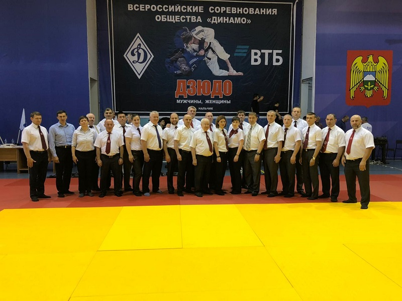 Всероссийские соревнования среди региональных организаций Общества «Динамо» по дзюдо