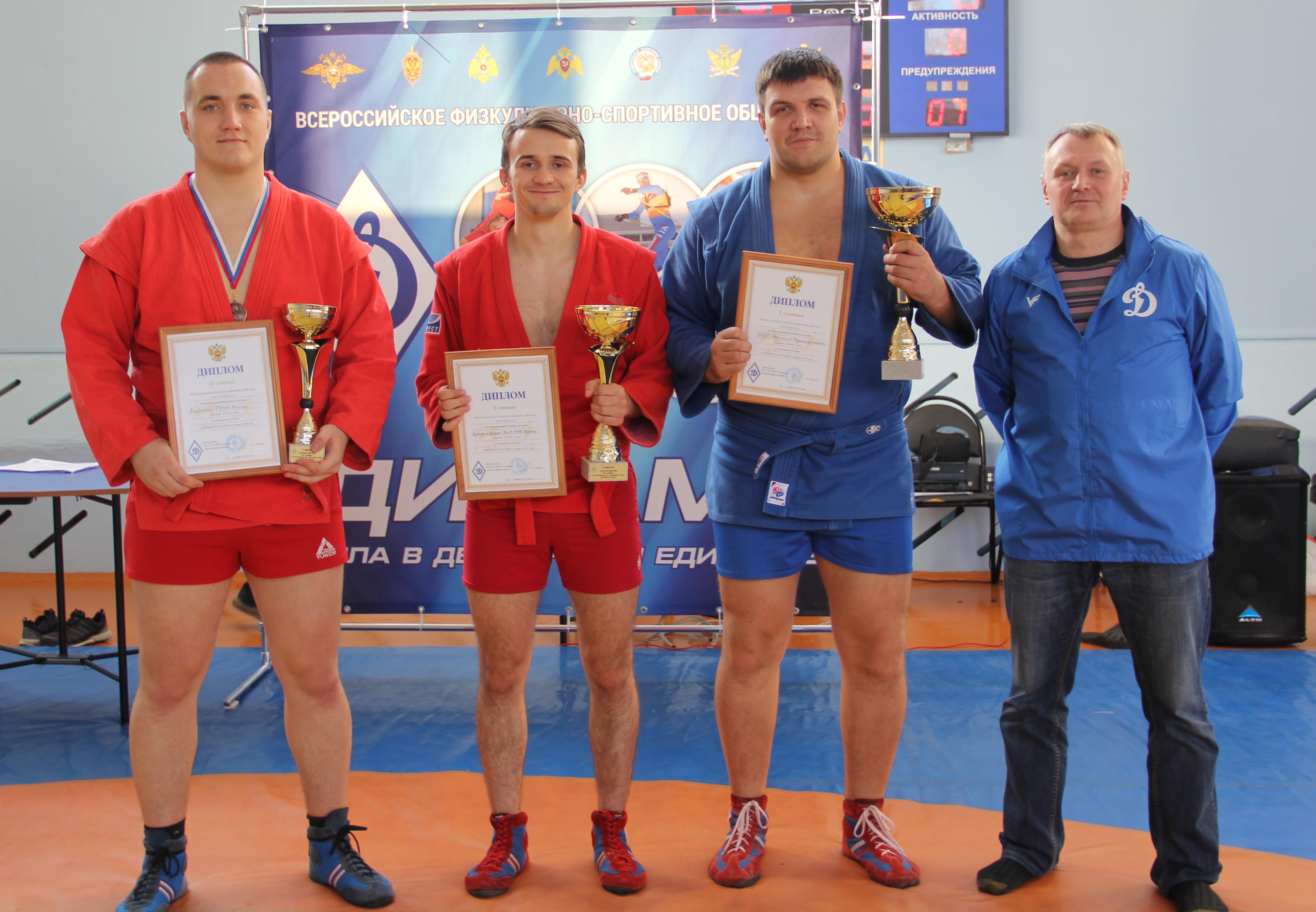 Соревнования РОО Общества «Динамо» по самбо