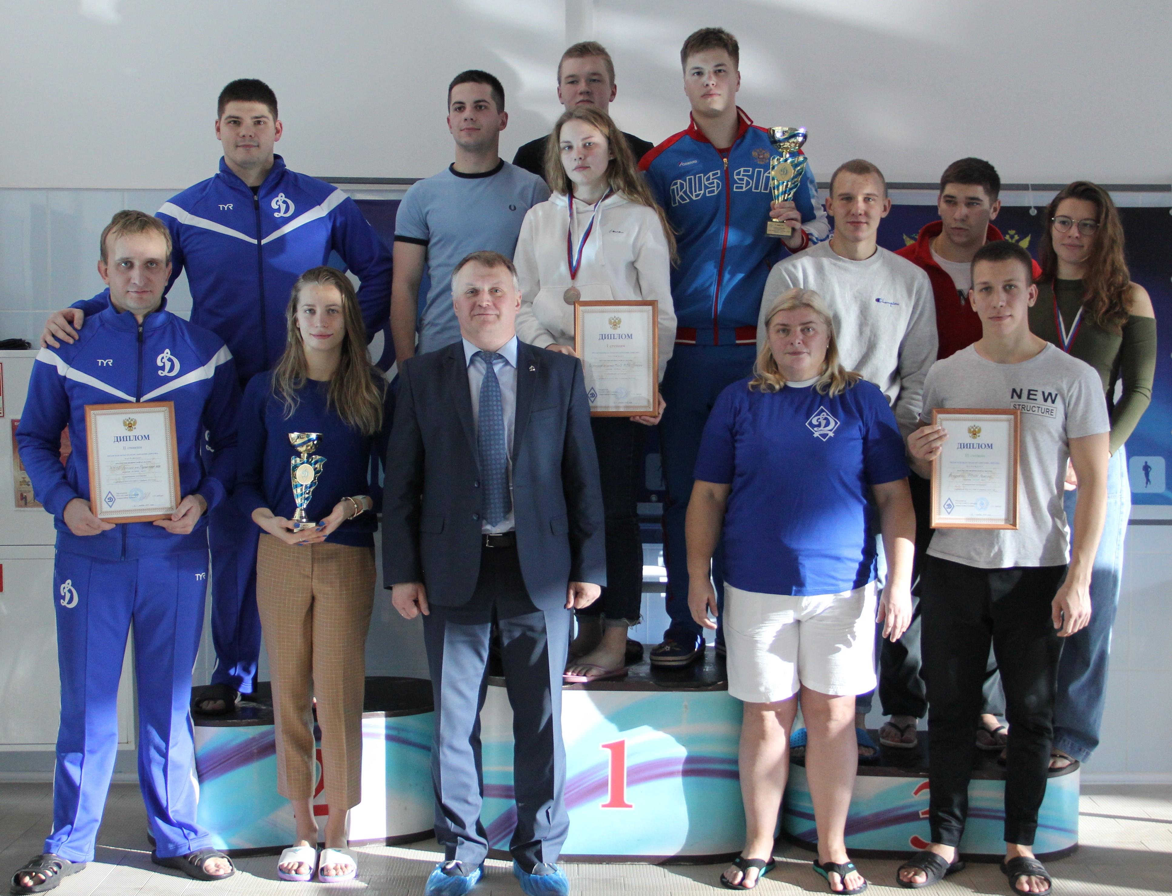 Соревнования по плаванию Спартакиады РОО «Динамо» 2019 года