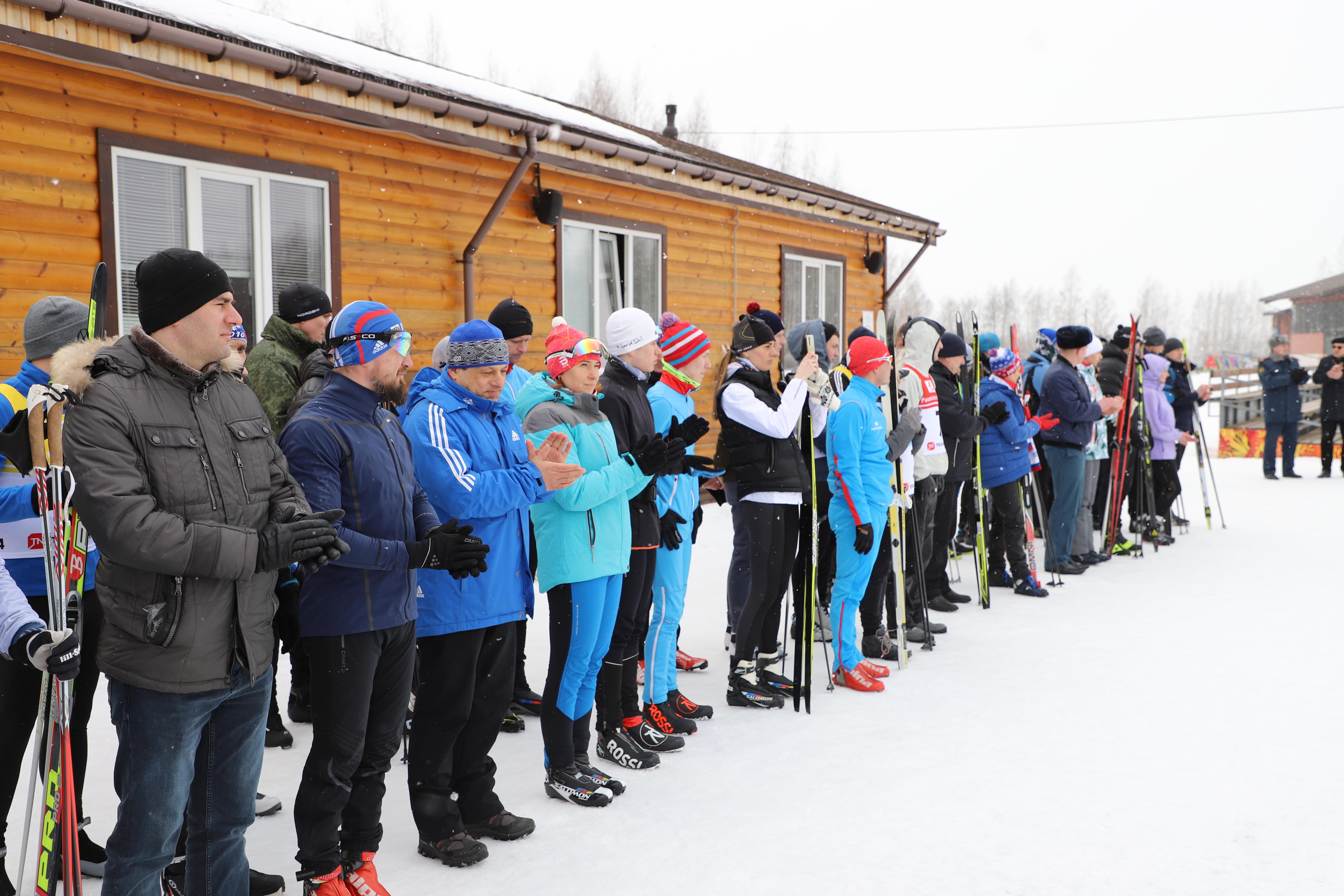 Результаты лыжных гонок в рамках Спартакиады 2021